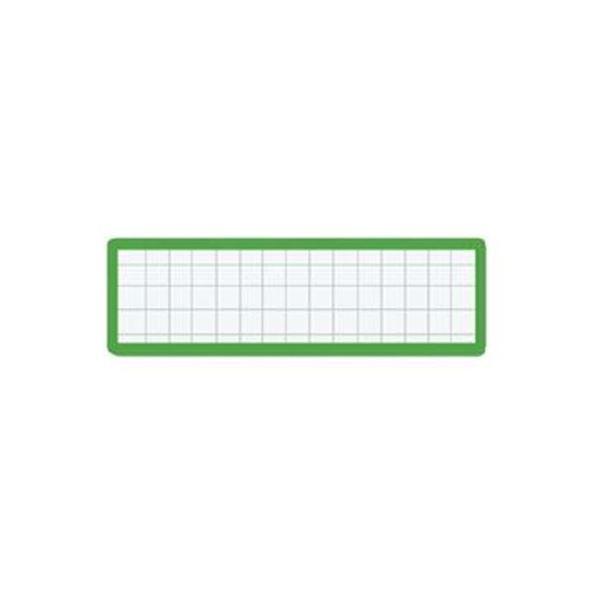 (まとめ)コクヨ マグネット見出し 19×75mm緑 マク-402G 1セット(10個)【×10セット】【日時指定不可】