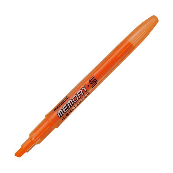 (まとめ) モナミ 蛍光ペン MEMORY・SHIGHLIGHTER 橙 18409 1本 【×300セット】【日時指定不可】