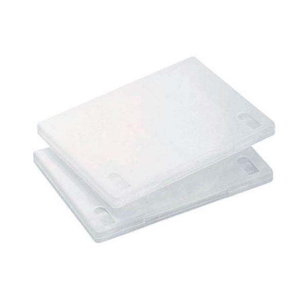 (まとめ) エレコム DVDトールケース 3枚収納クリア CCD-DVD07CR 1個 【×30セット】【日時指定不可】