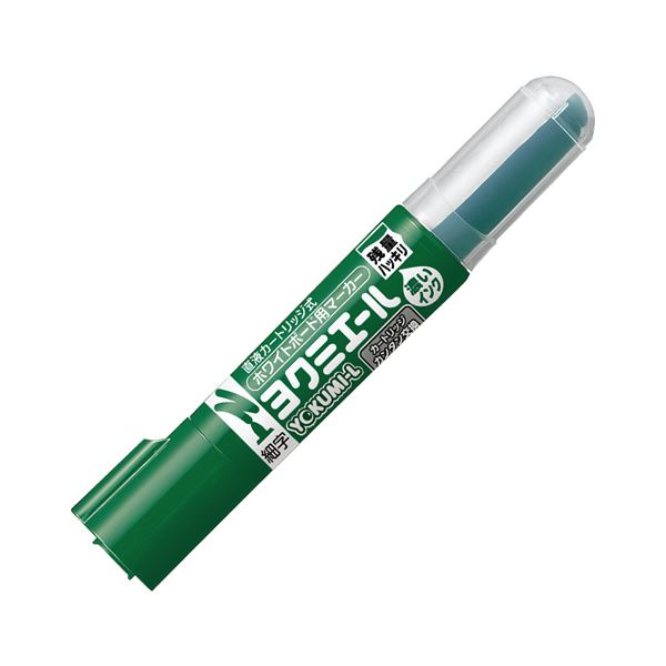(まとめ) コクヨ ホワイトボード用マーカーペン ヨクミエール 細字・丸芯 緑 PM-B501G 1本 【×100セット】【日時指定不可】