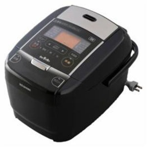 アイリスオーヤマ IHジャー炊飯器 3合炊き ブラック KRC-IC30-B【日時指定不可】
