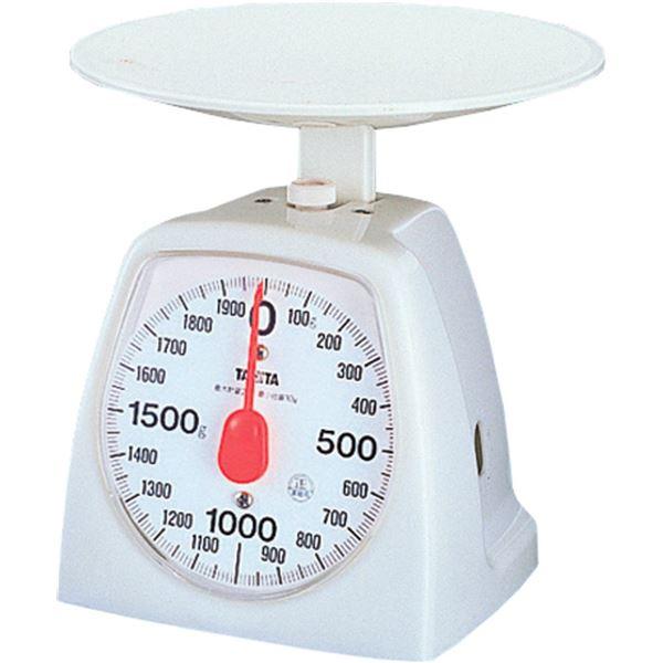 (まとめ) アナログ キッチンスケール/はかり 【2kg】 最大計量:2kg 最小目盛:10g 計量器 TANITA タニタ 【×18個セット】【日時指定不可】