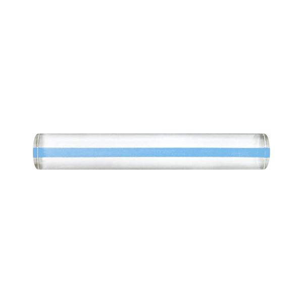 (まとめ) 共栄プラスチック カラーバールーペ15cm ブルー【×20セット】【日時指定不可】