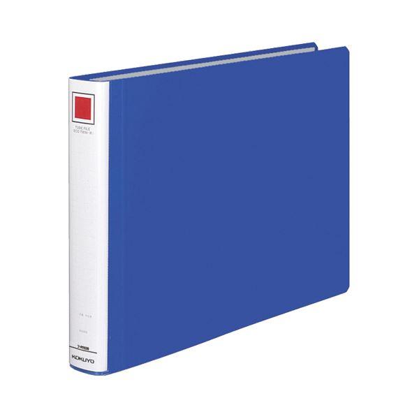 (まとめ) コクヨ チューブファイル(エコツインR) B4ヨコ 300枚収容 背幅45mm 青 フ-RT639B 1冊 【×10セット】【日時指定不可】