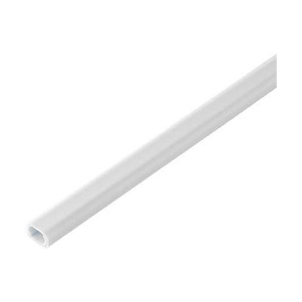 (まとめ)ELPA テープ付ABSモール 1号1m ホワイト M-T1110P(W)1パック(10本)【×5セット】【日時指定不可】