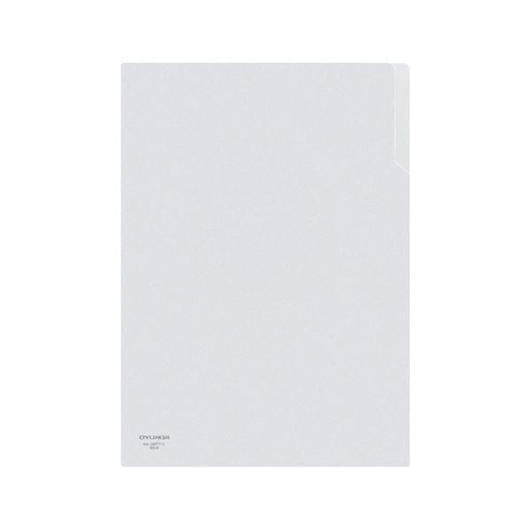 コクヨ クリヤーホルダー A4 透明フ-T750 1セット(200枚)【日時指定不可】
