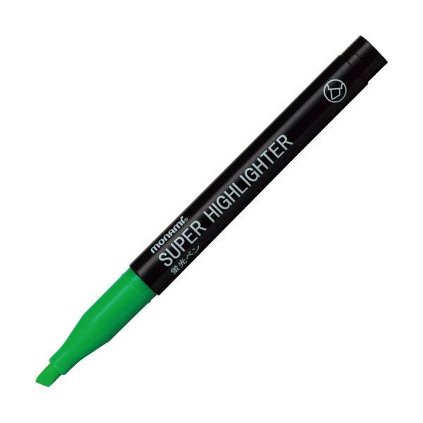 (まとめ) モナミ 蛍光ペン SUPERHIGHLIGHTER 緑 18404 1本 【×300セット】【日時指定不可】