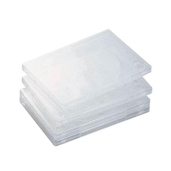 (まとめ) エレコム DVDトールケース 1枚収納クリア CCD-DVD02CR 1個 【×30セット】【日時指定不可】