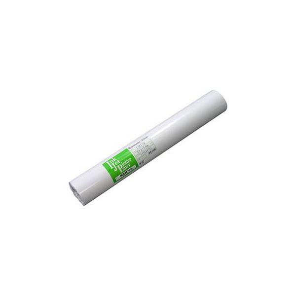 (まとめ)桜井 インクジェット用再生紙70白24インチロール 610mm×50m IJR77Y 1箱(2本)【×3セット】【日時指定不可】