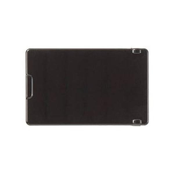 (まとめ)TRUSCO 操作盤用フタ TS黒 難燃5760121001 1個【×10セット】【日時指定不可】