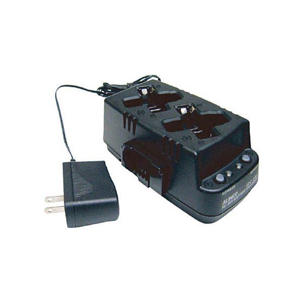 (まとめ)アルインコ ツイン充電器セットEDC186A 1個【×3セット】【日時指定不可】
