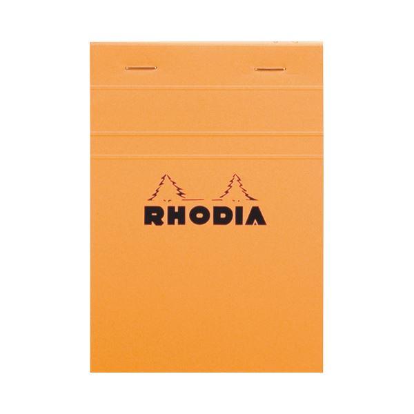 (まとめ) ロディア ブロックロディア No.13148×105mm 5mm方眼 オレンジ 80枚 cf13200 1冊 【×30セット】【日時指定不可】