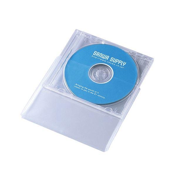 (まとめ) サンワサプライ プラケース保護袋10mm厚サイズ用 FCD-PT30N 1パック(30枚) 【×30セット】【日時指定不可】