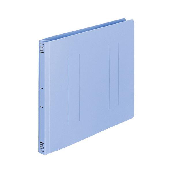 (まとめ) コクヨ フラットファイル(PP) A4ヨコ 150枚収容 背幅20mm 青 フ-H15B 1セット(10冊) 【×10セット】【日時指定不可】