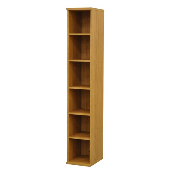 カラーボックス(収納棚/カスタマイズ家具) 6段 幅30×高さ177.9cm セレクト1830BR ブラウン【代引不可】【日時指定不可】
