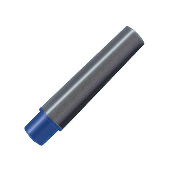(まとめ) ゼブラ 水性マーカー紙用マッキー極細用インクカートリッジ 青 RWYTS5-BL 1パック(2本) 【×100セット】【日時指定不可】