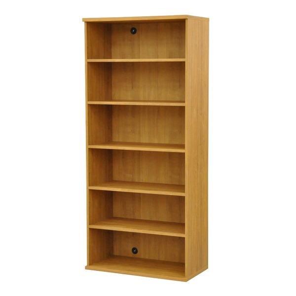 カラーボックス(収納棚/カスタマイズ家具) 6段 幅78.9×高さ177.9cm セレクト1880BR ブラウン【代引不可】【日時指定不可】