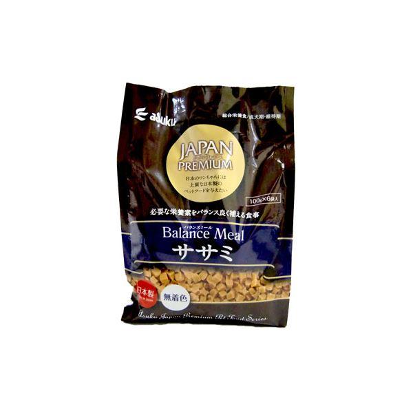 (まとめ)JAPAN PREMIUM バランスミール ササミ 600g(ペット用品・犬フード)【×12セット】【日時指定不可】