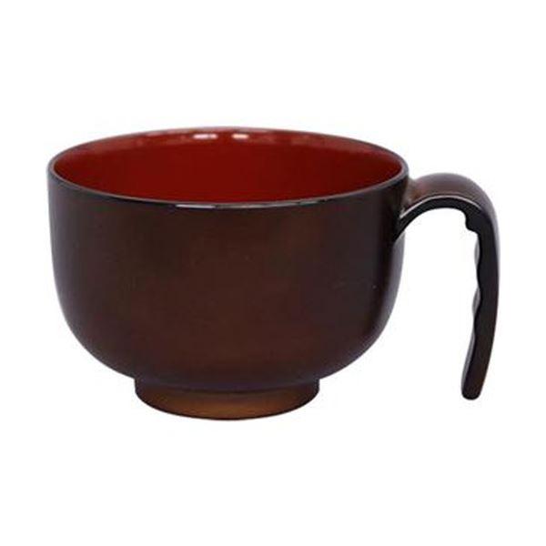 (まとめ)台和 取っ手付き汁椀ミニ ブラウンHS-N32 1個【×20セット】【日時指定不可】