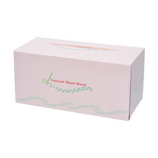 (まとめ)アズマ工業 ふんわりワイパーシートピンク 1箱(50枚)【×10セット】【日時指定不可】