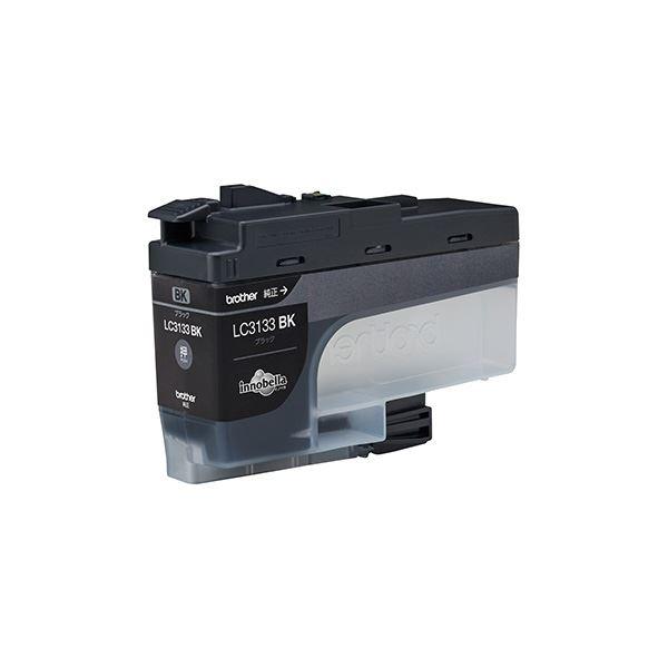 (業務用5セット)【純正品】 ブラザー LC3133BK インク 大容量 ブラック【日時指定不可】