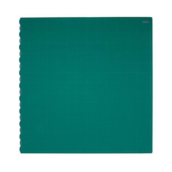 (まとめ)TANOSEE二つ折りデスクサイズカッターマット 690×1340mm 1枚【×3セット】【日時指定不可】