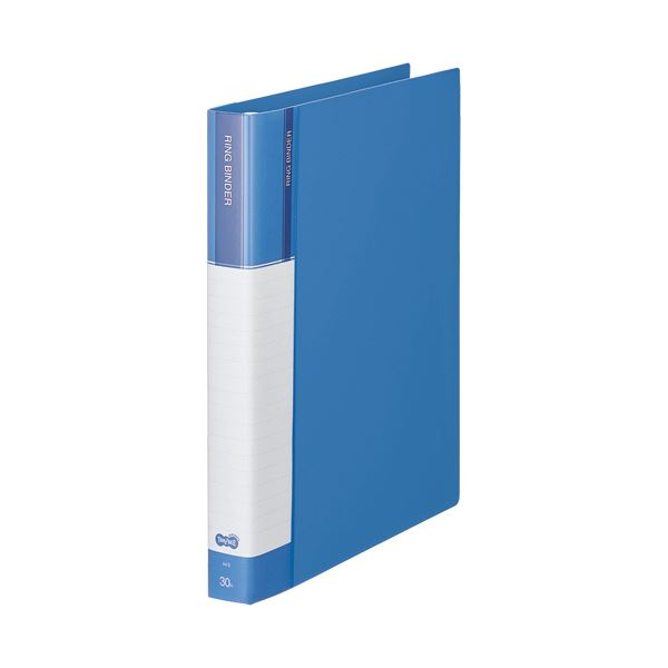差替式 PP表紙タイプの30穴バインダー まとめ TANOSEE 発売モデル 30穴バインダー PP表紙 ギフ_包装 A4タテ 日時指定不可 80枚収容 ブルー ×3セット 10冊 背幅36mm 1セット