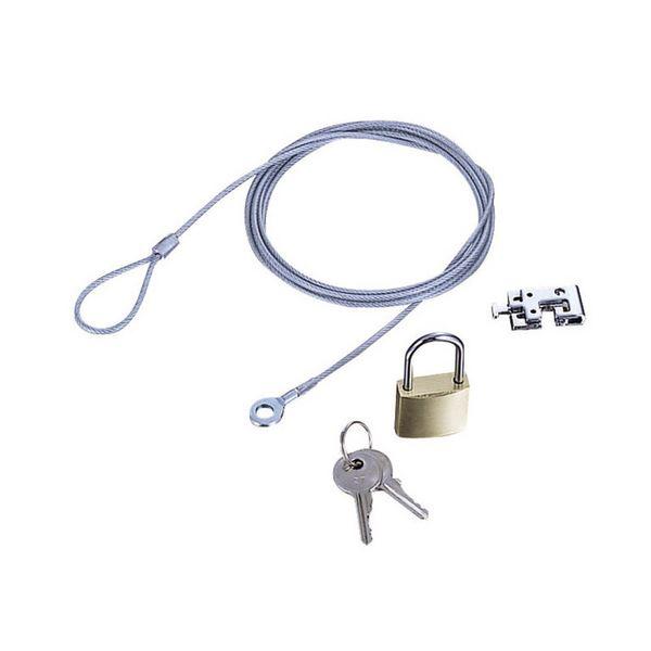 (まとめ) エレコム ノートPC&マウス用セキュリティワイヤーロック ESL-3R 1パック 【×10セット】【日時指定不可】