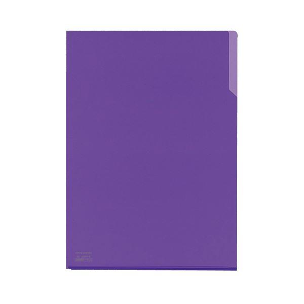 (まとめ) コクヨ クリヤーホルダー10(テン)A4 紫 フ-T750-7 1セット(5枚) 【×30セット】【日時指定不可】