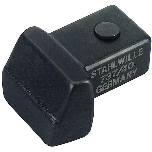 STAHLWILLE(スタビレー) 737/100 トルクレンチ差替ヘッド(ブランク) (58270100)【日時指定不可】