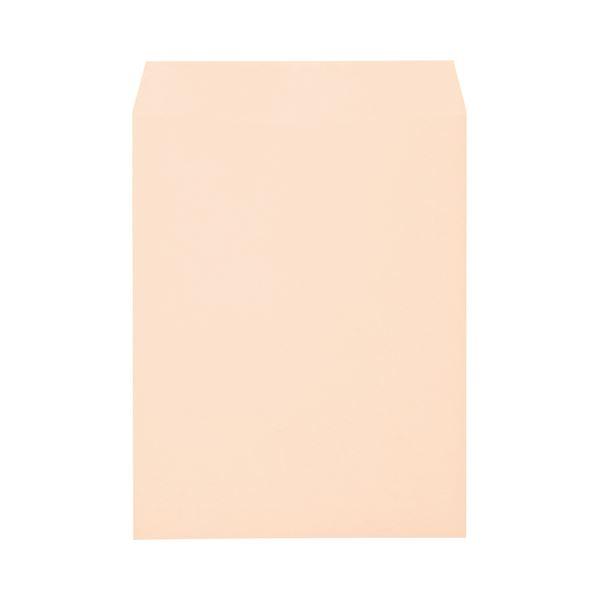 (まとめ) キングコーポレーション ソフトカラー封筒 角3 100g/m2 ピンク K3S100P 1パック(100枚) 【×10セット】【日時指定不可】