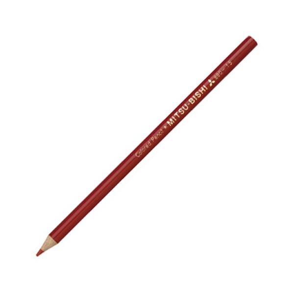 (まとめ) 三菱鉛筆 色鉛筆880級 あかK880.15 1ダース 【×30セット】【日時指定不可】
