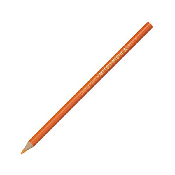 (まとめ) 三菱鉛筆 色鉛筆880級 だいだいいろK880.4 1ダース 【×30セット】【日時指定不可】