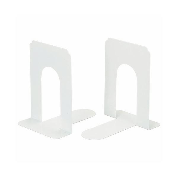 (まとめ) ライオン事務器 ブックエンド T型 大ライトグレー NO.7 1組(2枚) 【×10セット】【日時指定不可】