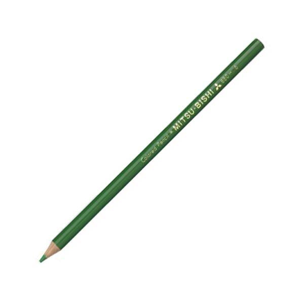 (まとめ) 三菱鉛筆 色鉛筆880級 みどりK880.6 1ダース 【×30セット】【日時指定不可】