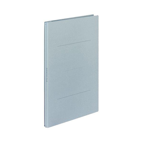 (まとめ) コクヨ ガバットファイル(紙製) A4タテ 1000枚収容 背幅13~113mm 青 フ-90B 1パック(10冊) 【×5セット】【日時指定不可】