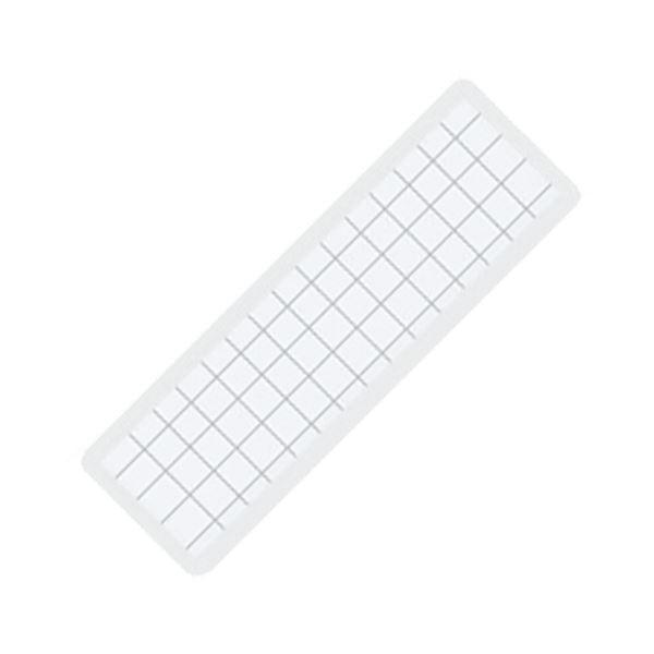 (まとめ) コクヨ マグネット見出し 19×75×1.2mm 白 マク-402W 1個 【×100セット】【日時指定不可】