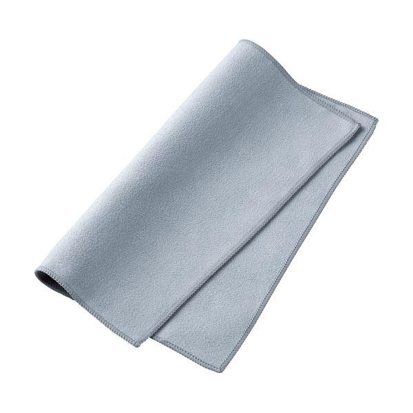 (まとめ) サンワサプライ銀イオンクリーニングクロス 抗菌・消臭 W200×H200mm シルバー CD-CC14SV 1枚 【×30セット】【日時指定不可】
