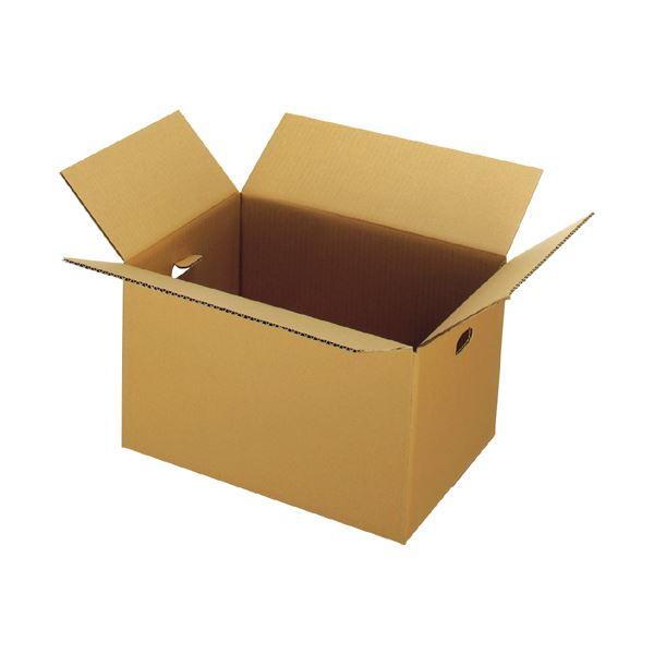 (まとめ) ジョインテックス 穴付ダンボール箱 大10枚 B176J-L【×5セット】【日時指定不可】