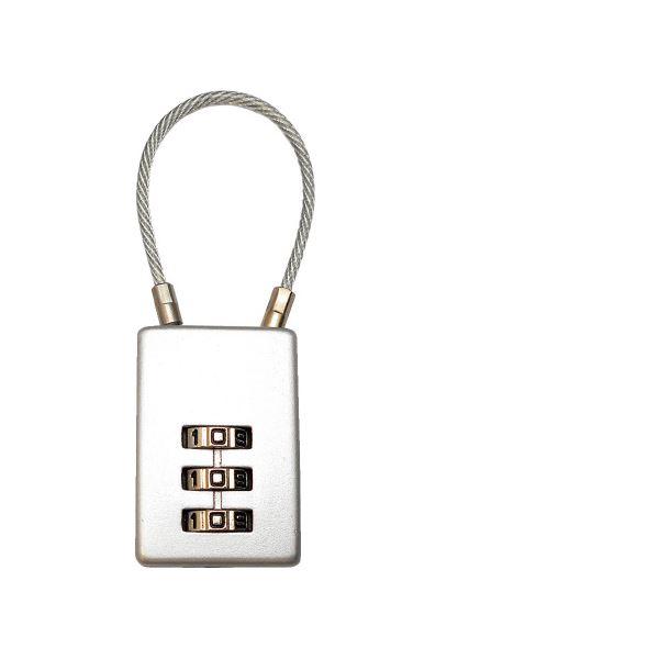(まとめ)アイアイ ケーブルロック 番号可変式 3段 IB-032【×30セット】【日時指定不可】