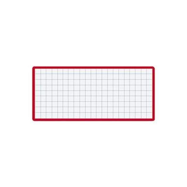 (まとめ)コクヨ マグネット見出し43×104mm 赤 マク-412R 1セット(10個)【×5セット】【日時指定不可】