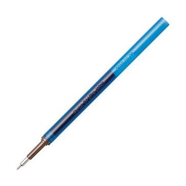 (まとめ)ぺんてる ゲルインキボールペン ノック式エナージェル インフリー 替芯 0.4mm ブルー XLRN4TL-C 1セット(10本)【×20セット】【日時指定不可】