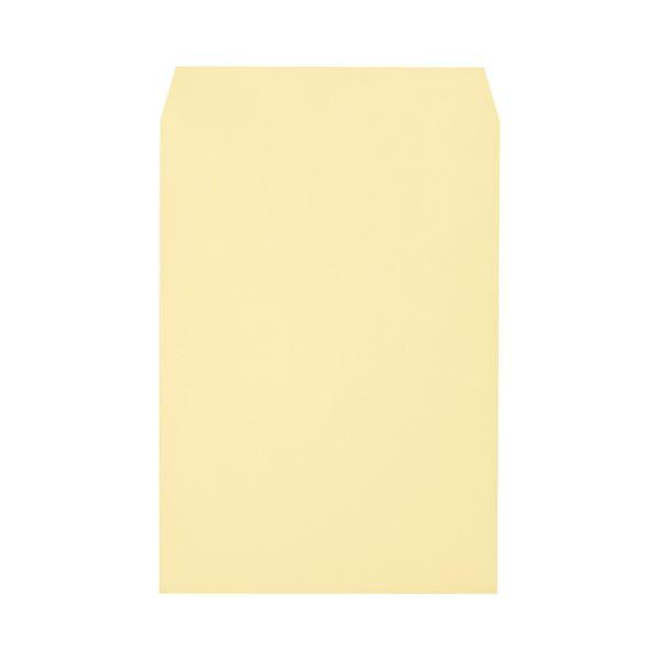 (まとめ) キングコーポレーション ワンタッチテープ付ソフトカラー封筒 角2 100g/m2 クリーム K2S100CQ50 1パック(50枚) 【×10セット】【日時指定不可】