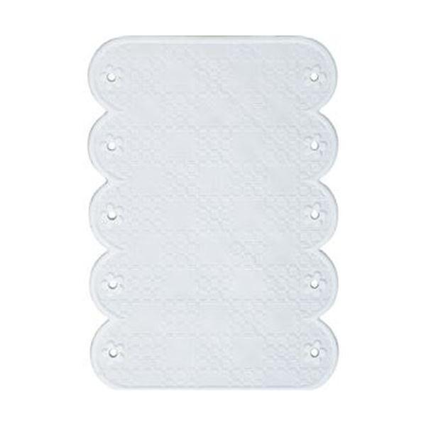 (まとめ)ワイズ スベリを防ぐ手すりマット20×28cm ホワイト BW022 1枚【×20セット】【日時指定不可】