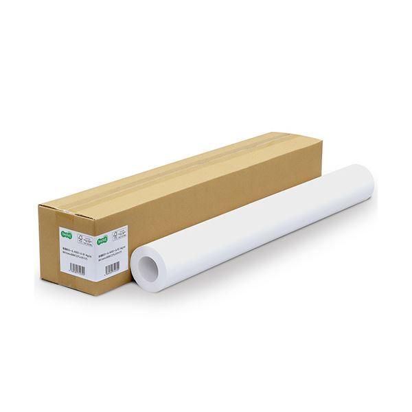 (まとめ) TANOSEE普通紙ロール(コアレスタイプ) A0ロール 841mm×60m 81.4g 1本 【×5セット】【日時指定不可】