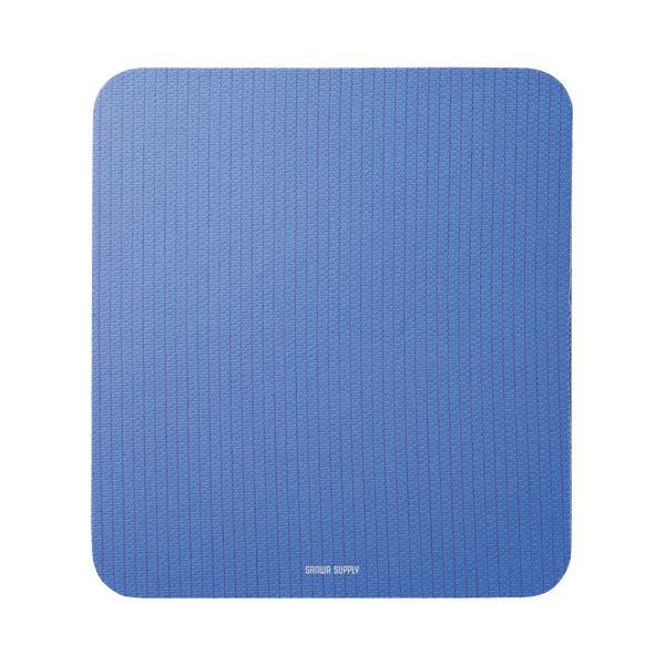 (まとめ) サンワサプライ 静電気除去マウスパッド ブルー MPD-SE1BL 1枚 【×10セット】【日時指定不可】
