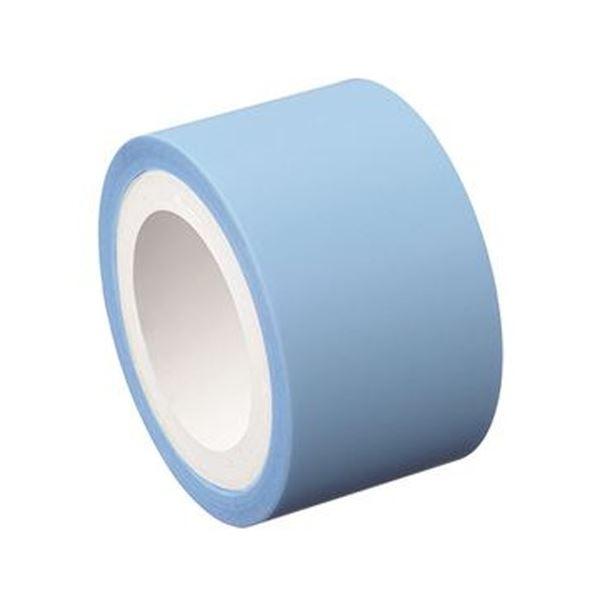(まとめ)ヤマト メモック ロールテープフィルムタイプ つめかえ用 25mm幅 パールブルー RF-25H-8N 1巻【×50セット】【日時指定不可】