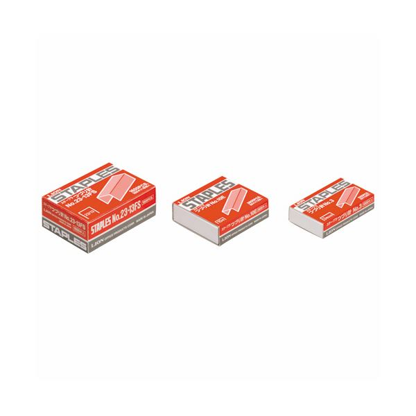 (まとめ) ライオン事務器 ステープラ綴針100本連結×16個入 No.23-13FS 1箱 【×30セット】【日時指定不可】
