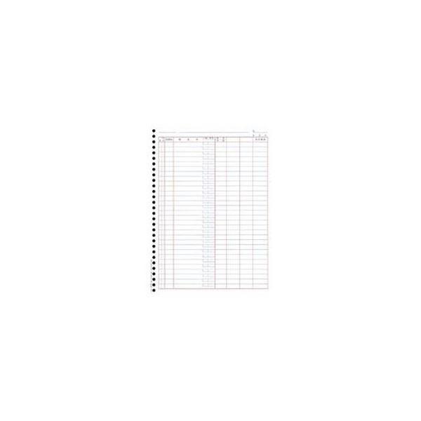 (まとめ)OBC 単票バインダー元帳 A4タテ4129 1箱(1000枚)【×3セット】【日時指定不可】