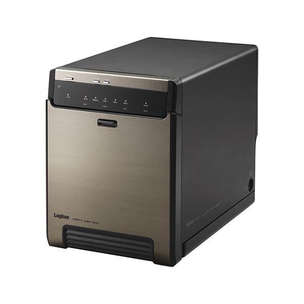 エレコム USB3.1(Gen2)対応4bayHDDケース ブラック LGB-4BNHUC【日時指定不可】